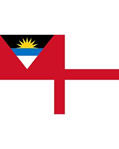 Drapeau: Coastguard Ensign of Antigua and Barbuda