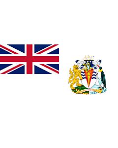 Drapeau: Territoire antarctique britannique