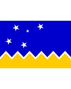 Drapeau: Magallanes, Chile | Magallanes and Chilean Antarctica Region, Chile | XII Región de Magallanes y de la Antártica Chilena