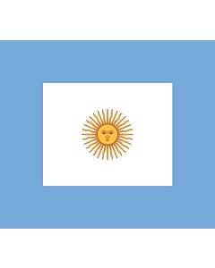 Drapeau: Naval Jack of Argentina