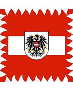 Drapeau: Presidential Standard of Austria  -1984   Former Flag of the President of Austria  used until 1984   Ehemaliger Stander des österreichischen Bundespräsidenten  bis 1984   Štandarda prezidenta Rakúskej republiky