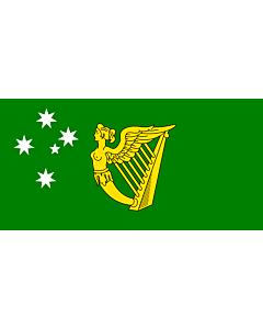 Drapeau: Australian Irish heritage