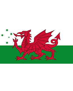 Drapeau: Australian Welsh heritage