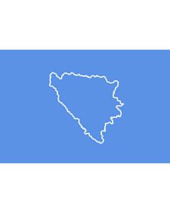 Drapeau: BiH  First set of proposal 3 | Third alternative flag of the First set of Proposals for the Bosnian Flag change