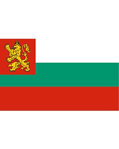 Drapeau: Naval Ensign of Bulgaria 1878-1944