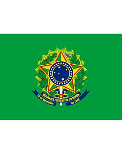 Drapeau: Presidential Standard of Brazil | Presidential Flag of Brazil