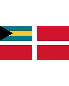 Drapeau: Civil Ensign of the Bahamas