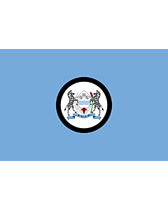 Drapeau: Standard of the President of Botswana