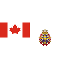 Drapeau: Canadian Forces   Joint service flag of the Canadian Forces