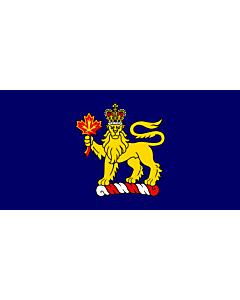 Drapeau: Canadian Governor General LeBlanc   Governor General w en LeBlanc of w en Canada