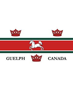 Drapeau: Guelph   City of Guelph, Ontario, Canada