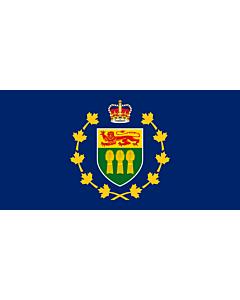 Drapeau: Lieutenant-gouverneur de Saskatchewan