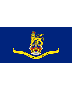 Drapeau: Standard of the Canadian Governor General 1931   Created the image myself using the base image template at the Commons