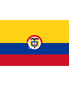 Drapeau: President of Colombia | That is used by the President of Colombia | Presidente de Colombia | Presidenziale della Colombia