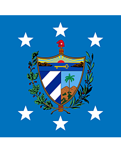 Drapeau: President of Cuba