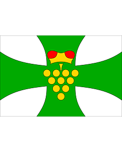 Drapeau: Domanin HO CZ | Municipal flag of Domanín village | Domanín, okres Hodonín