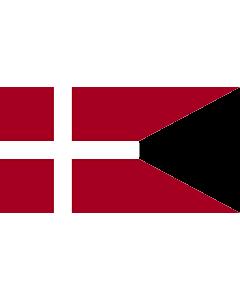 Drapeau: Naval Ensign of Denmark