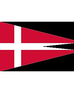 Drapeau: Naval Rank Denmark Senior Officer Afloat