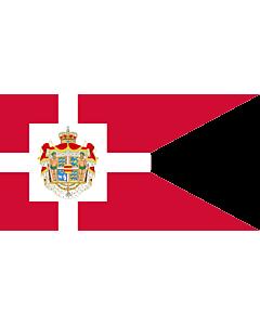 Drapeau: Royal Standard of Denmark | Det danske kongeflag