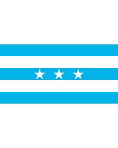 Drapeau: Guayaquil | City Santiago de Guayaquil in Ecuador; Flag of the Guayas Province