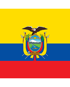 Drapeau: National Standard of Ecuador