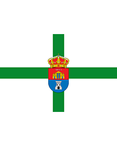 Drapeau: Abla | Abla Almería province - Spain | Municipio de Abla  Almería - España Según la descripción Paño rectangular de color blanco