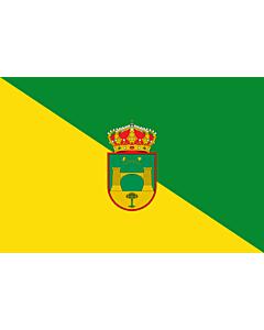 Drapeau: Beires | Beires municipality  Almería province - Spain | Municipio de Beires  Almería - España  Según la descripción Paño rectangular vez y media mas largo que ancho