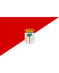 Drapeau: Palma del Condado | La Palma del Condado, Huelva, Spain | Palma del Condado, Huelva, España