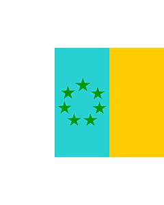 Drapeau: Siete Estrellas Verdes | Esta es la bandera nacionalista canaria