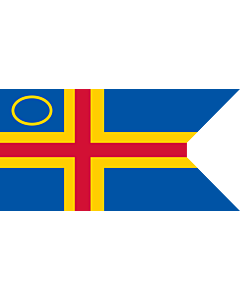 Drapeau: Åland Yachting Clubs | This image shows a flag