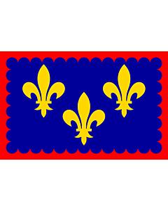 Drapeau: Région Bérry en France