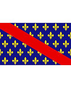 Drapeau: Bourbonnais   French province of Bourbonnais