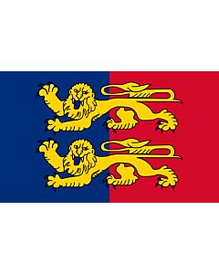 Drapeau: Département de la Manche