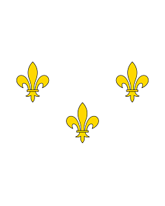 Drapeau: Royalist France   Royalist France prior to 1789 and from 1814-30 I created this image as a vector replacement for Image French Fleur-De-Lis  White
