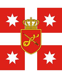 Drapeau: Georgia. Standard of Chief of General Staff