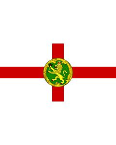 Drapeau: Alderney | Couleu de Aurni