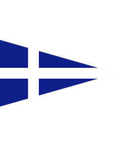 Drapeau: Greek Royal Navy Senior officer s