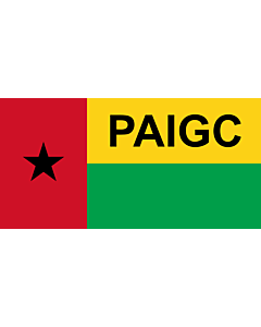 Drapeau: Parti africain pour l indépendance de la Guinée et du Cap-Vert