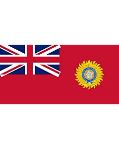 Drapeau: British Raj Red Ensign