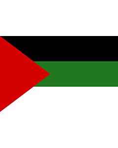 Drapeau: Arab revolution | Arab revolt of 1917  Hashemites