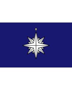 Drapeau: Ensign of the Japanese Coast Guard
