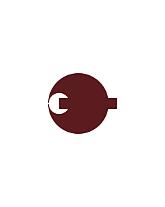 Drapeau: Nara Prefecture | Nara Prefecture, Japan | 日本の奈良県章。