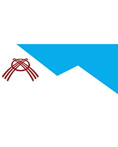 Drapeau: Osh   Osh city, Kyrgyzstan