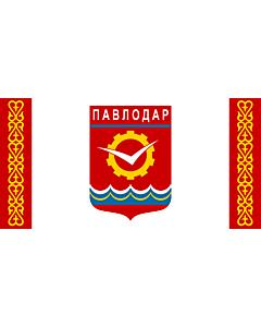 Drapeau: Pavlodar | Pavlodar, Kazakhstan