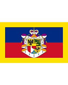 Drapeau: Étendard du prince de Liechtenstein