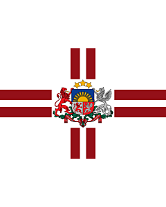 Drapeau: President of Latvia | That is used by the President of Latvia