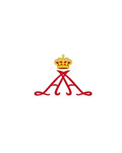 Drapeau: Personal standard of Prince Alberto II of Monaco