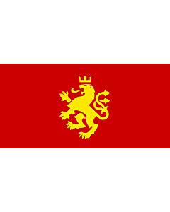 Drapeau: Macedonia - ethnic | Еthnic Macedonian lion | Етничко македонско знаме со лав