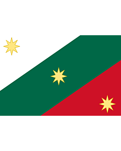Drapeau: First flag of the Mexican Empire   Mexican Regency  First flag of the Mexican Empire