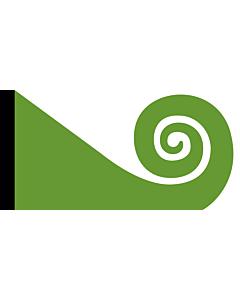 Drapeau: Koru | This image shows the popular Koru Flag